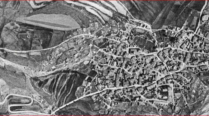 FOTOGRAFÍAS AÉREAS DE 1945 Y 1956 EN OJOS NEGROS Y EL PUERTO DE SAGUNTO. ALTOS HORNOS DEL MEDITERRÁNEO.