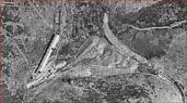 Casas de Montiel. Inicio del Túnel. 1956